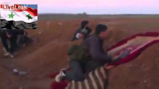 Скачать Syrian Rebels Killed By Mortar