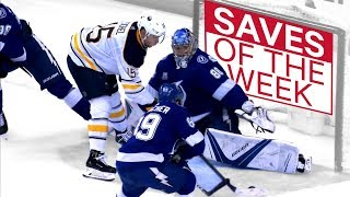 NHL Saves of the Week:  Vasilevskiy doing Vezina worthy things