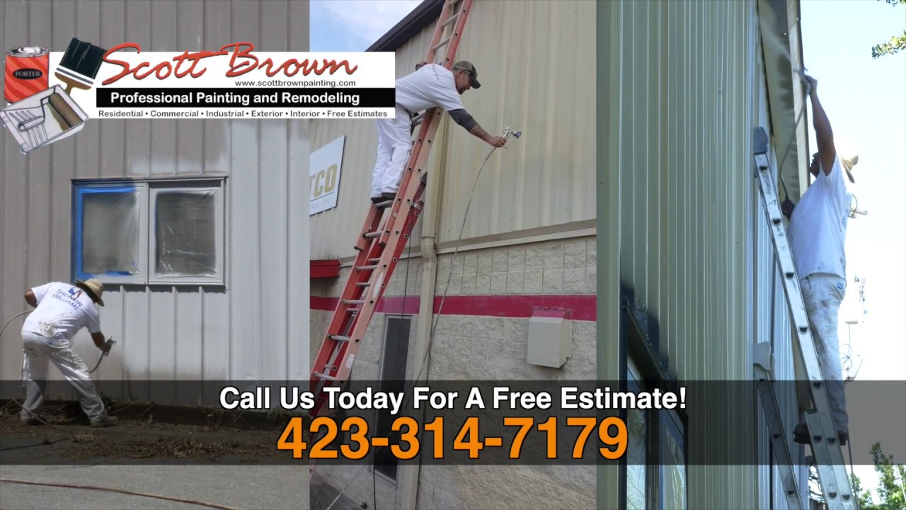 Commercial Painting & Remodeling - Scott Brown Painting