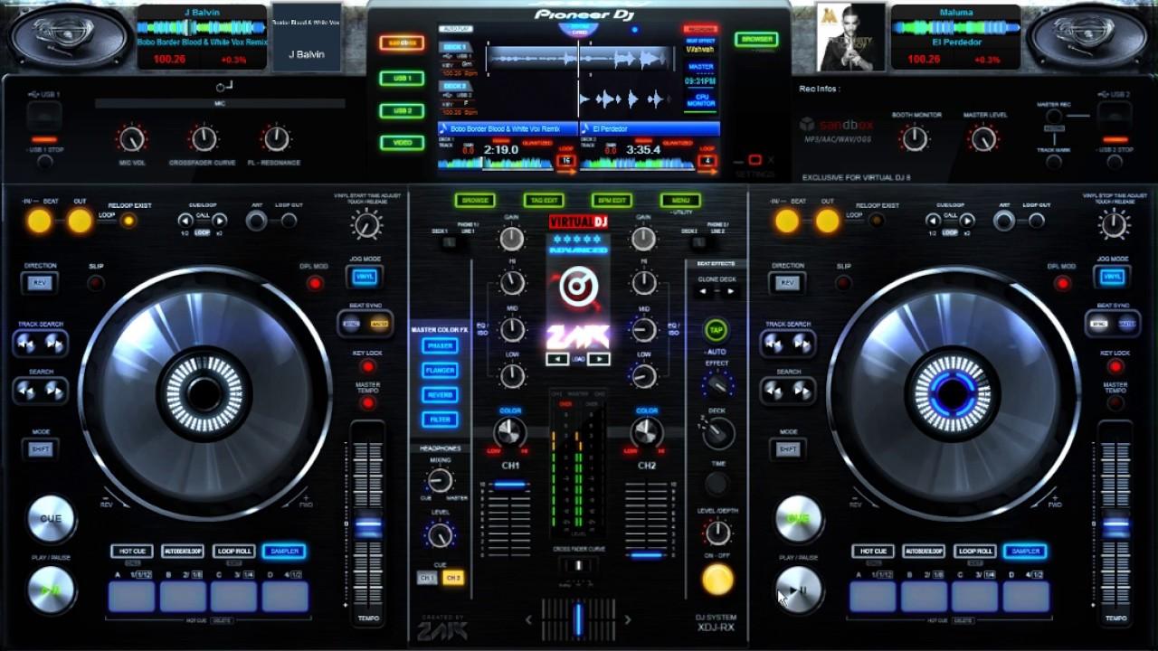 New Dj Wallpaper Download: DJ JotaFlow ( En Virtual Dj 8