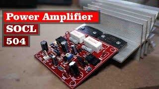 Assemble Power Amplifier SOCL 504