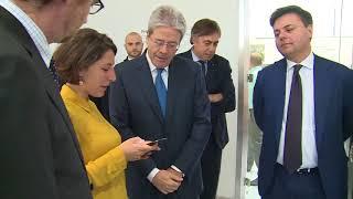 Gentiloni visita il Talent Garden di Poste italiane