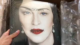Baixar Madonna Madame X Translucent Light Blue Vinyl Unboxing