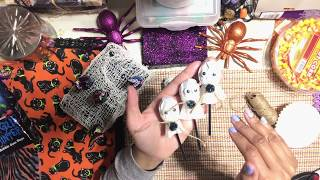#27. Halloween 💀Craft Series 2018 - How to Make DIY Lollipops Ghost Candy - Halloween Party Favor