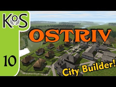 Ostriv Ep 10: WOOD & CLAY - City Builder - Let's Play, Gameplay