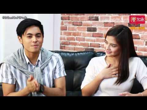 Bianca Umali and Miguel Tanfelix on PEP TALK. Ano ang gagawin mo pag sinabi kong crush kita?