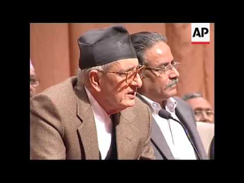 Nepal government, rebels sign peace deal to end decade-long conflict