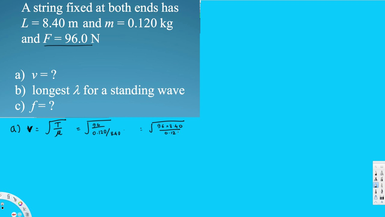 Mechanical Waves Examples 4 Physics Youtube