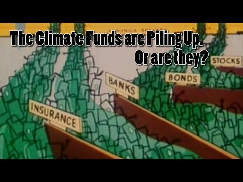 The UN Climate Change Funding piles up. Or does it?