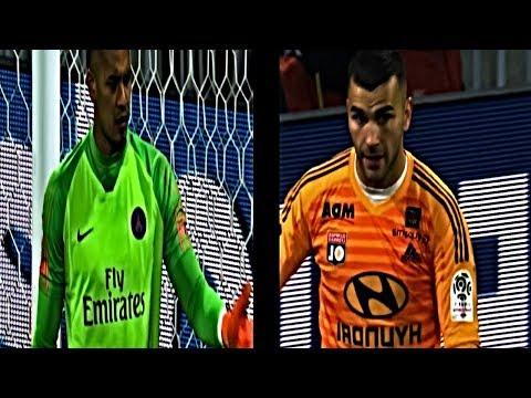 Alphonse Areola vs Anthony Lopes - PSG vs Lyon - 2/3/2019 HD