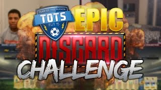 OUR BIGGEST DISCARD PACK CHALLENGE! - FIFA 15 BUNDESLIGA TOTS PACK OPENING!