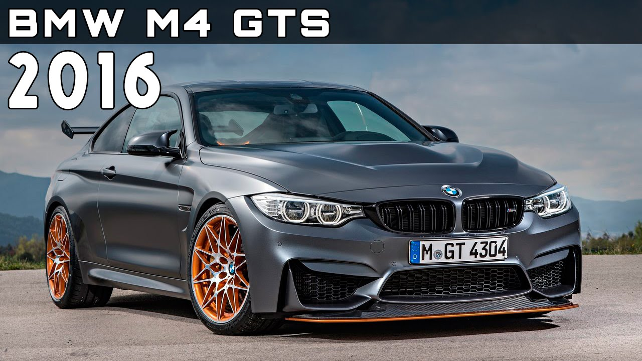 2016 Bmw M4 Gts Review Rendered Price Specs Release Date