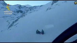 Muere un hombre de 37 años que practicaba esquí de travesía en Picos de Europa