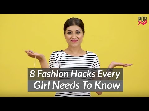 8 Fashion Hacks Every Girl Needs To Know - POPxo Fashion. http://bit.ly/2GPkyb3