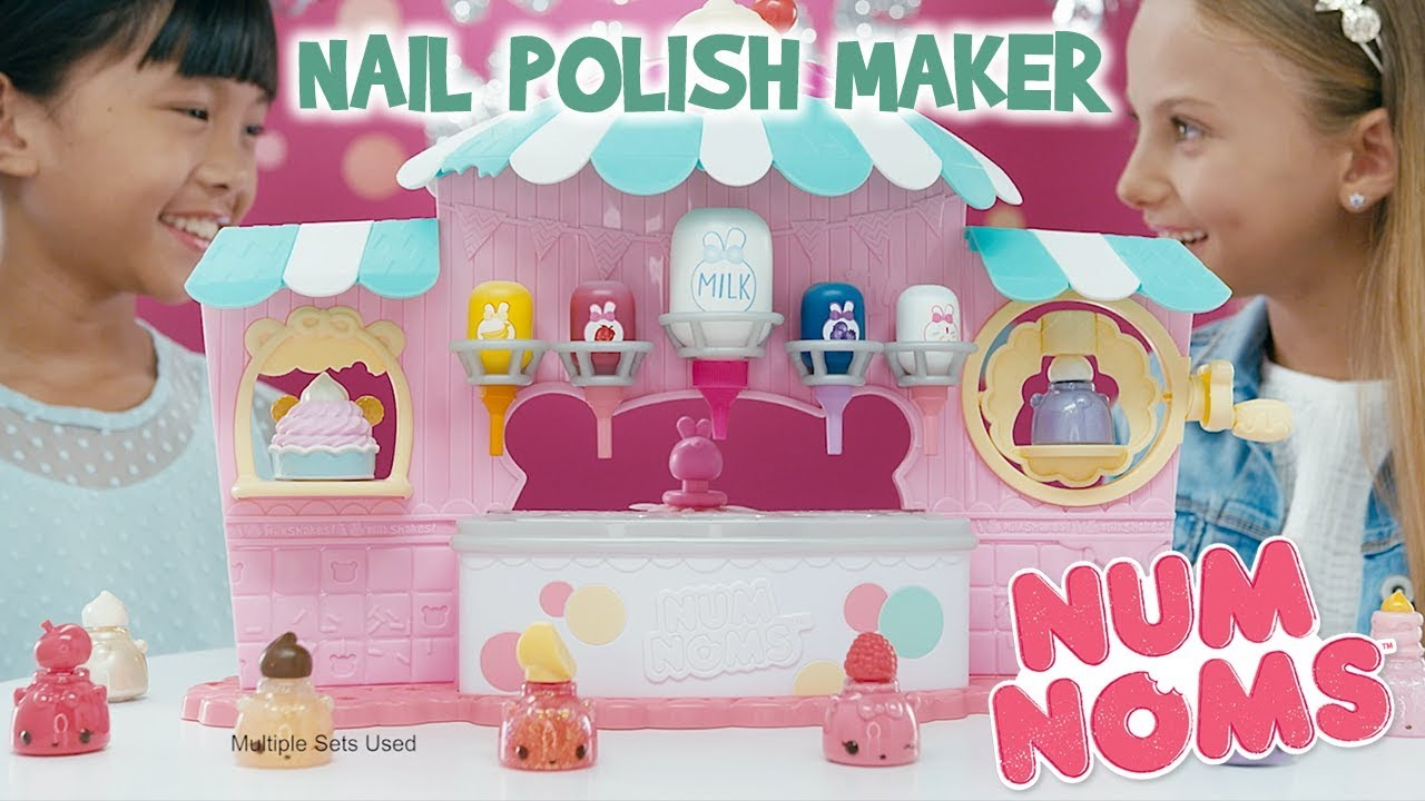 Num Noms | Nail Polish Maker | :30 Commercial | DIY Glitter Manicure ...