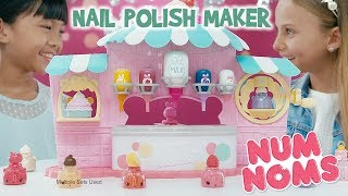 Num Noms | Nail Polish Maker | :30 Commercial | DIY Glitter Manicure Kit for Kids