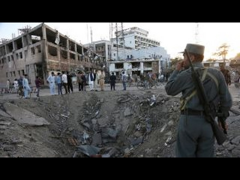 Death toll rises from massive vehicle bomb in Kabul