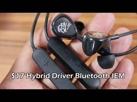 KZ BTE First Impressions – a Bluetooth earphone with hybrid driver!