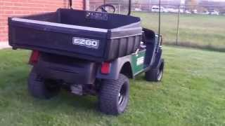 ezgo st 400 workhorse heavy duty utility golf cart 13 5hp kawasaki engine