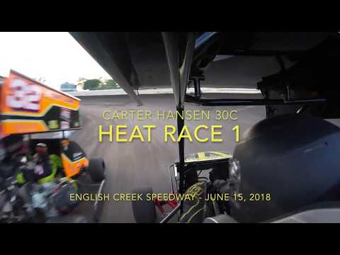 English Creek Speedway Box Stock Racing June 15, 2018