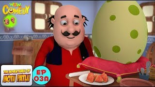 Baby Dinosaur - Motu Patlu in Hindi -  3D Animated cartoon series for kids  - As on Nickelodeon