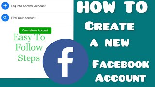 How To Create A Nęw Facebook Account When You Already have one | Without Using A Phone Number