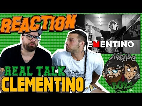 CLEMENTINO A REAL TALK | RAP REACTION 2017 | ARCADEBOYZ
