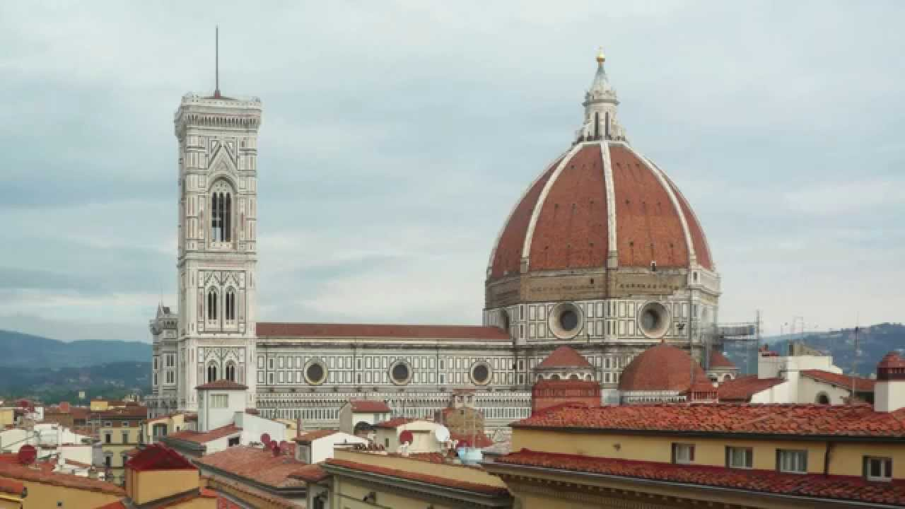 Brunelleschi Dome Of The Cathedral Of Florence Youtube