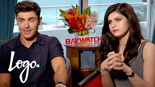 Zac Efron, Alexandra Daddario, & Cast Play Speed Round | Baywatch (2017 Movie)