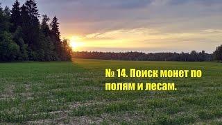 14. Поиск монет по полям и лесам