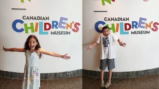 Family Day at the Canadian Children's Museum