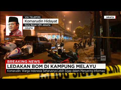 Komarudin Hidayat: Bom Dengan Alasan Agama Tidak Berlaku di Indonesia