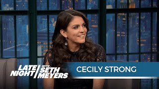 Cecily Strong's Brother Used to Run Obama's Confetti Cannon