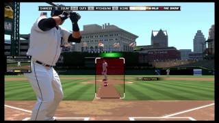 MLB 15 The Show Hitting Interface Guide/Directional Hitting
