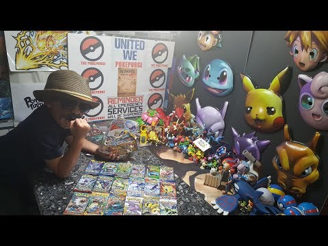 POKEPURGE!! CARL FIGHTS ?---? Opening A POKEMON BATTLE BOOST