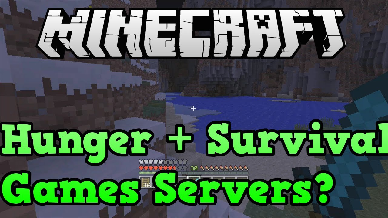Minecraft Xbox One / PS12: Hunger Games + Survival Games Servers