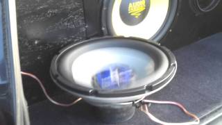 Lightning Audio S3.15.4 Subwoofer Free-Air Excursion