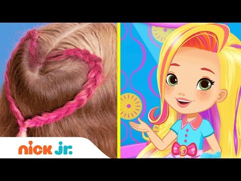 how-to-make-a-friendship-braid-💕-style-files-hair-tutorial-|-sunny-day-|-nick-jr.