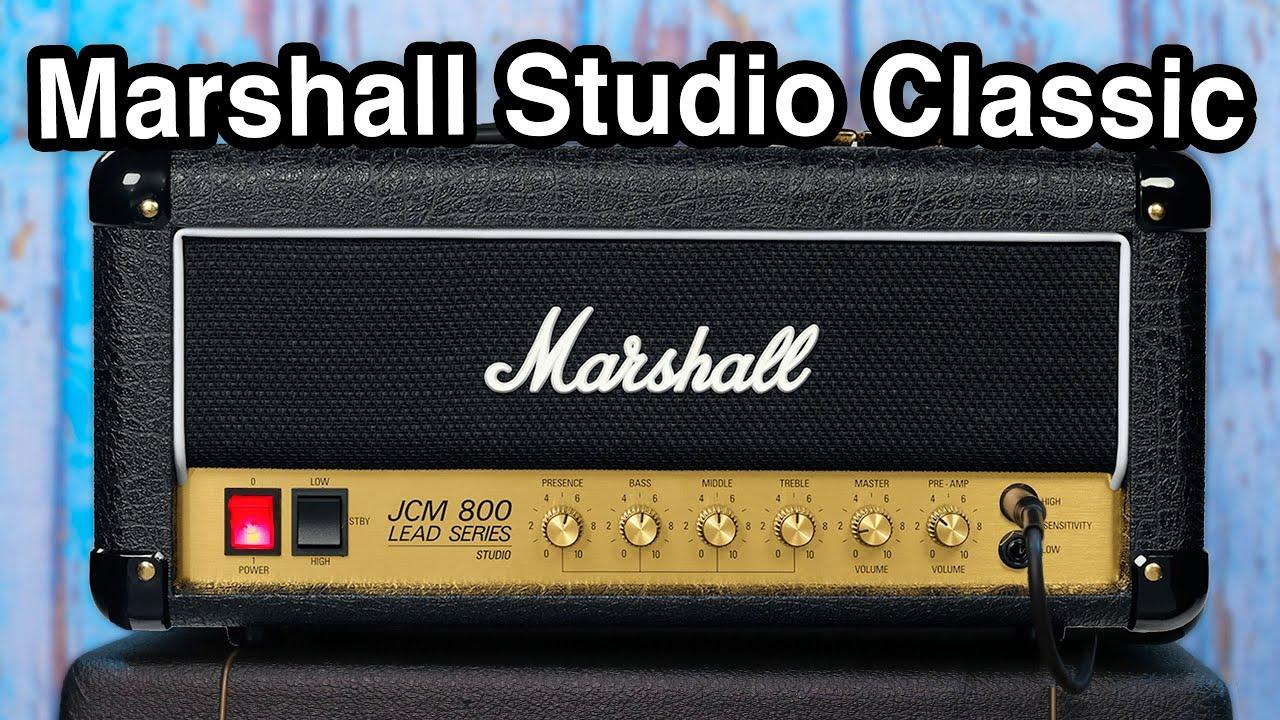 Marshall Studio Classic - THE AMP we've been waiting for - JCM 800 Studio  Series