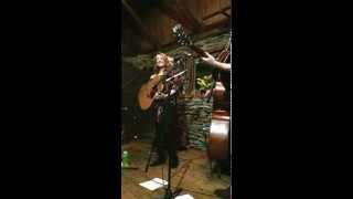CLAIRE LYNCH Sings Wabash Cannonball at the Cataloochee Ranch - 2015