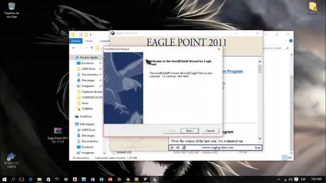 INTALACION EAGLE POINT 2011 + LINK DE DESCARGA - YouTube