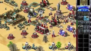 C&C Red Alert 2 Megapack Challenge 1v7 - Desert Warfare - British - Random