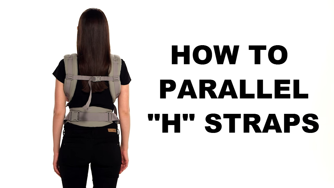How Do I Parallel H Straps Adapt Carrier Ergobaby