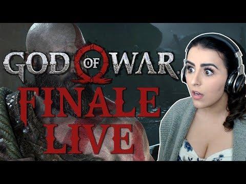 GOD OF WAR FINALE | GOD OF WAR ENDING LIVE
