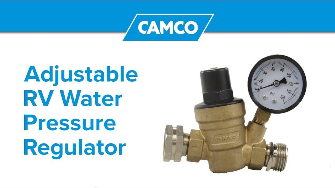 Adjustable Rv Water Pressure Regulator Youtube