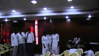 """VOC college western song performance """"pray for me brother"""" at ms university youth festival 2011"""