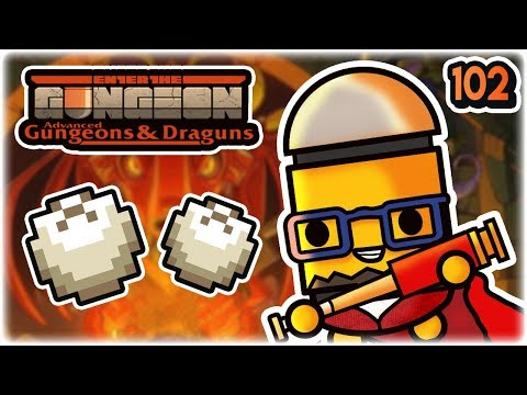 Double Meatbun | Part 102 | Let's Play: Enter the Gungeon Advanced Gungeons and Draguns