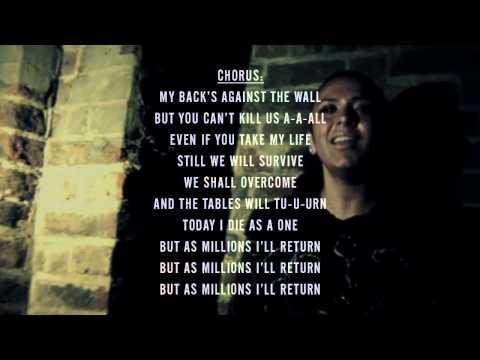 Lowkey - Million Man March ft. Mai Khalil (With Lyrics) ᴴᴰ