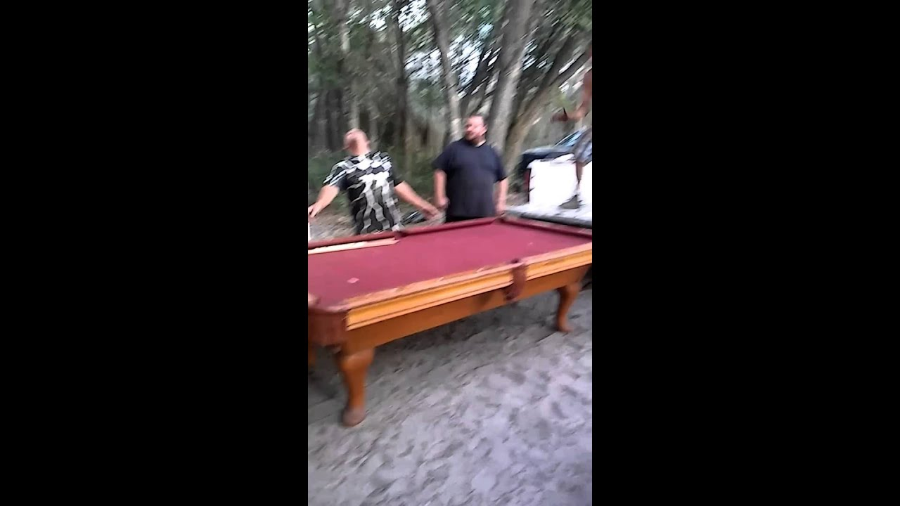 Hillbillies Moving Pool Table