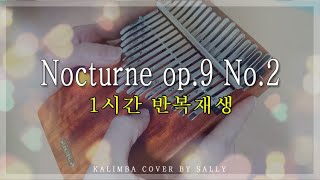 [Relaxing music]쇼팽 녹턴 칼림바연주 Chopin - Nocturne op.9 No.2 Kalimba cover (Relaxing sound)-1 Hour
